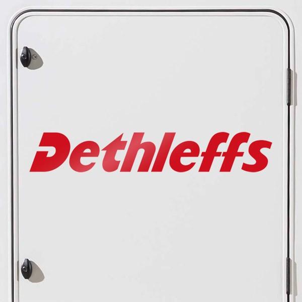 Car and Motorbike Stickers: Dethleffs 1