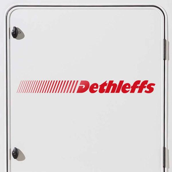 Car and Motorbike Stickers: Dethleffs 2