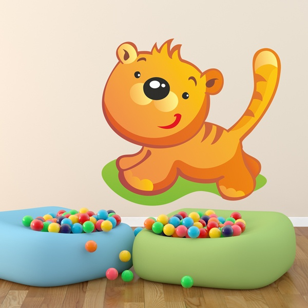 Stickers for Kids: Tiger