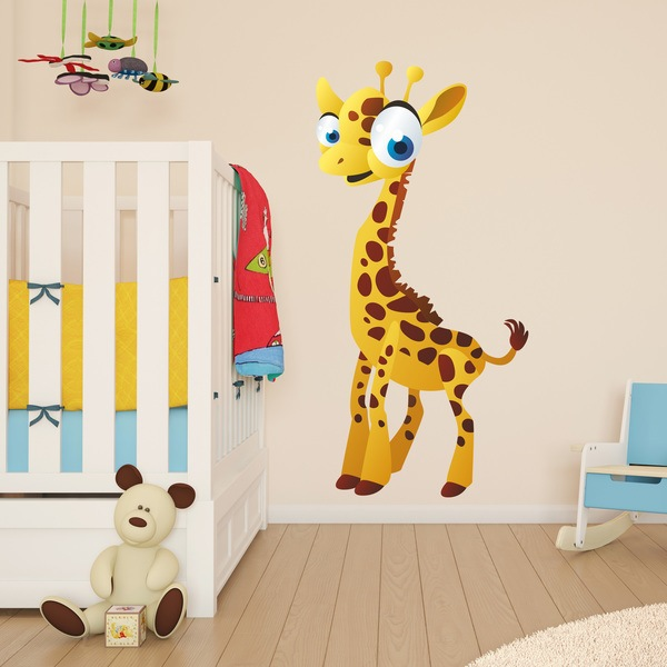 Stickers for Kids: Giraffe