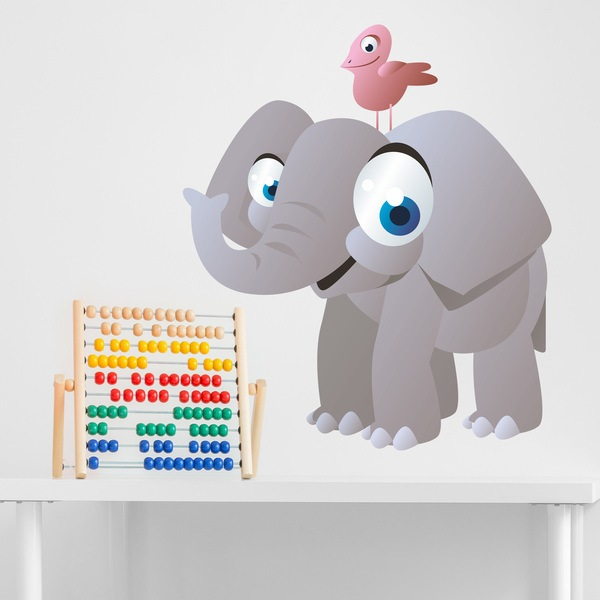 Stickers for Kids: Elephant