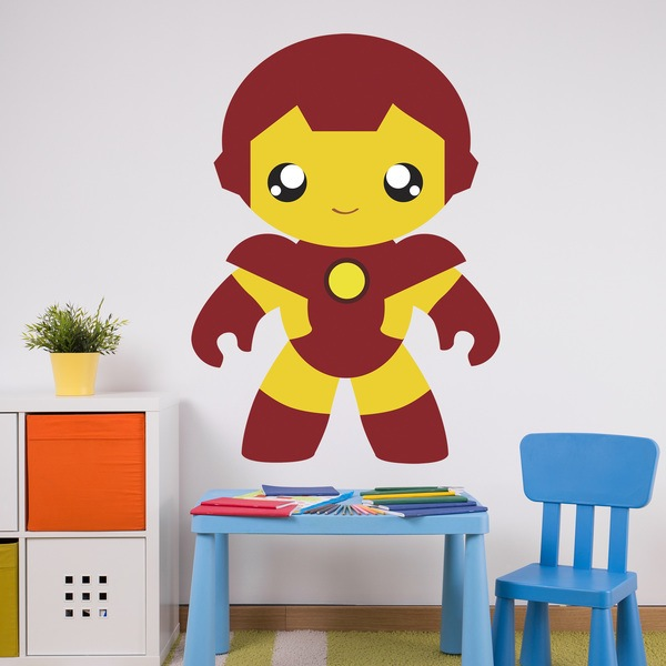 Stickers for Kids: Iron man