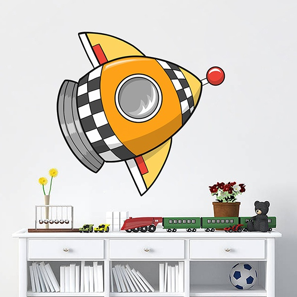 Stickers for Kids: Rocket 4