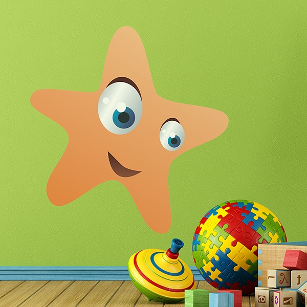 Stickers for Kids: Starfish