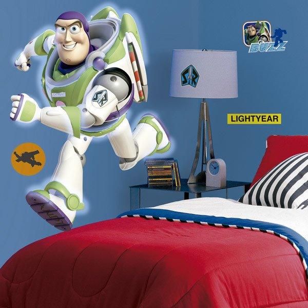 Stickers for Kids: Buzz Lightyear Giant
