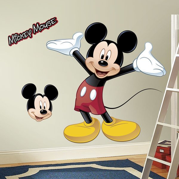 Stickers for Kids: Mickey Mouse wall sticker