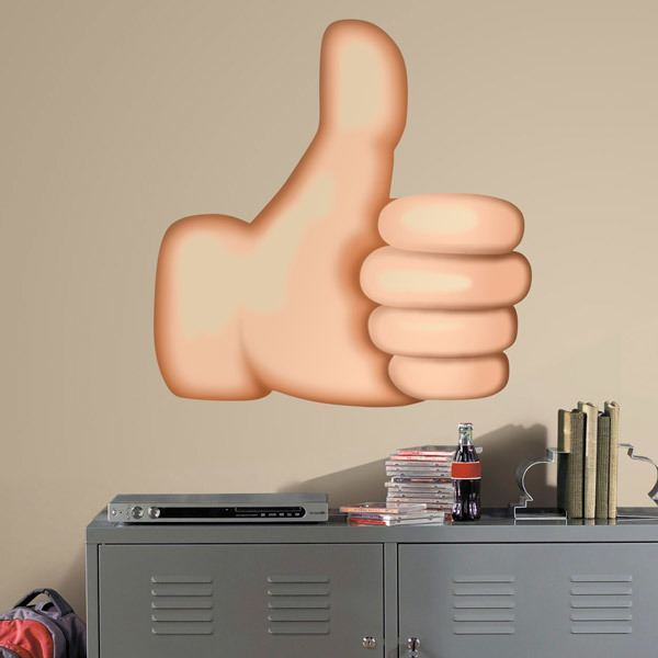 Wall Stickers: Thumbs Up Sign