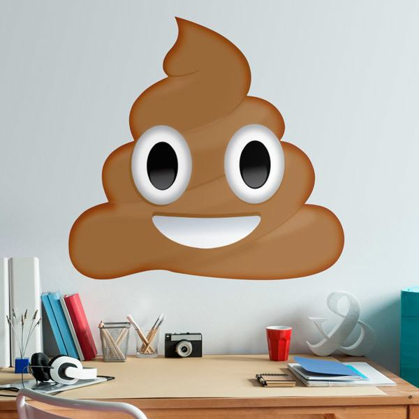 Wall Stickers: Pile of Poo