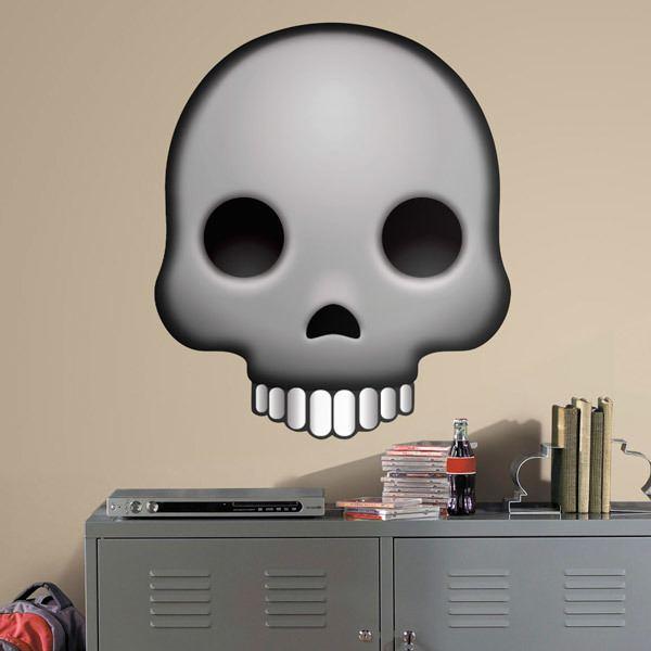 Wall Stickers: Human skull