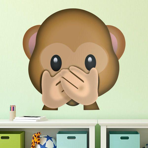 Wall Stickers: Speak-No-Evil Monkey