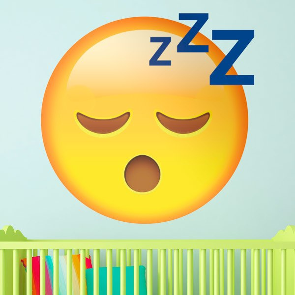 Wall Stickers: Sleeping Face