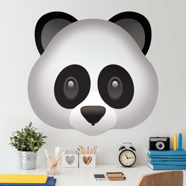 Wall Stickers: Panda Face