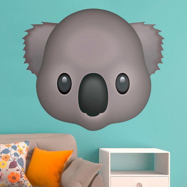 Wall Stickers: Koala Face
