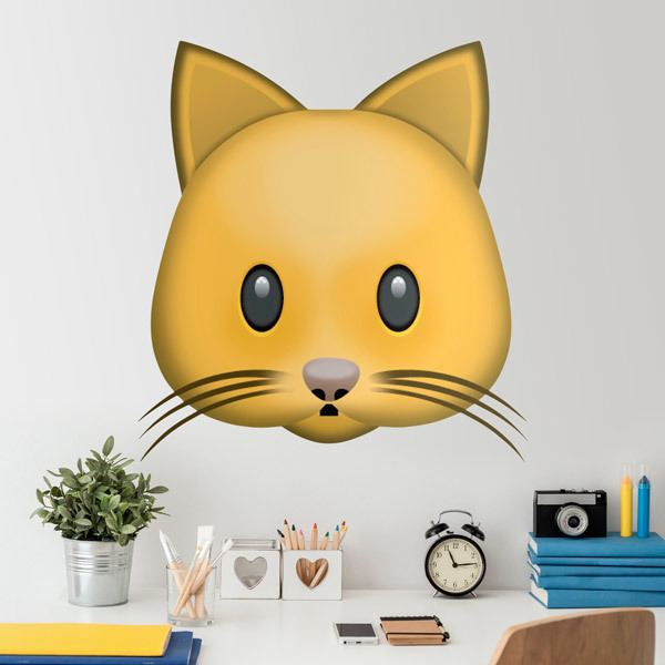 Wall Stickers: Cat Face