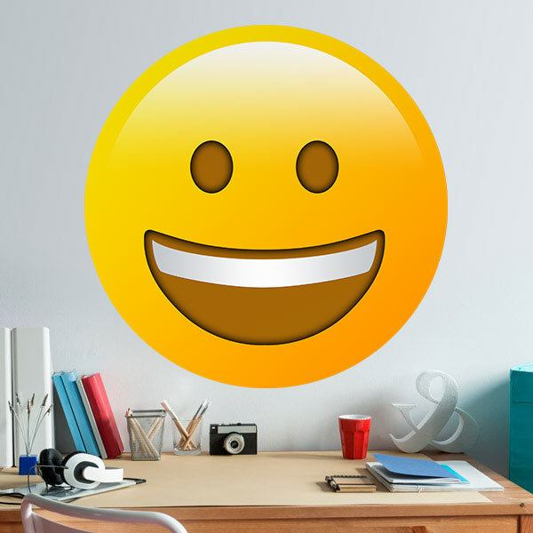 Wall Stickers: Grinning Face