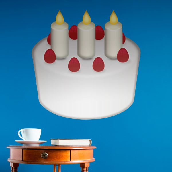 Wall Stickers: Birthday Cake