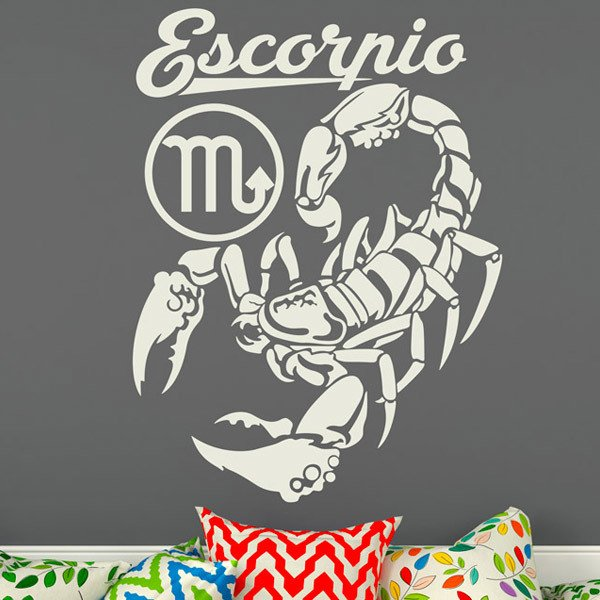 Wall Stickers: zodiaco 30 (Escorpio)