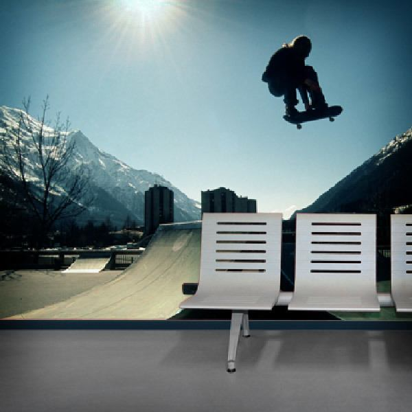 Wall Murals: Skateboard