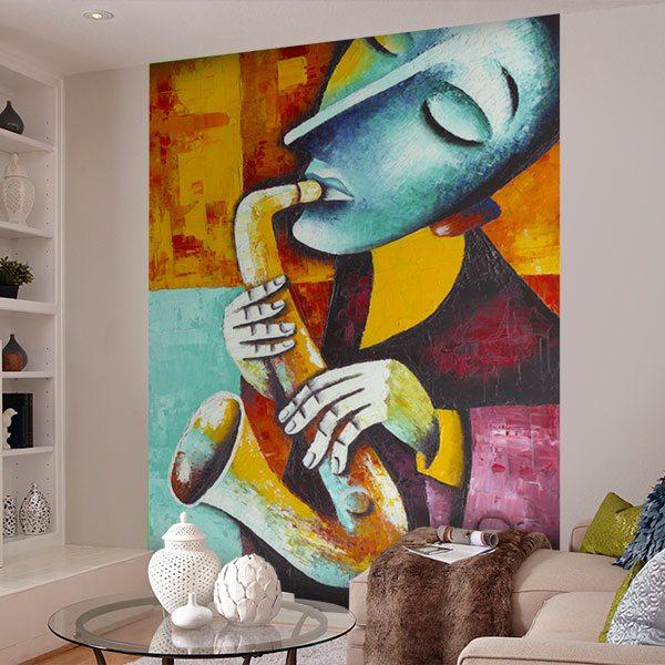 Wall Murals: Musician
