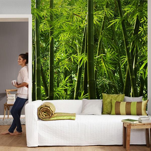Wall Murals: Bamboo