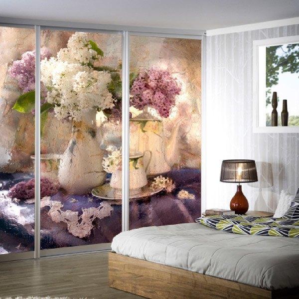 Wall Murals: Flowery Still life