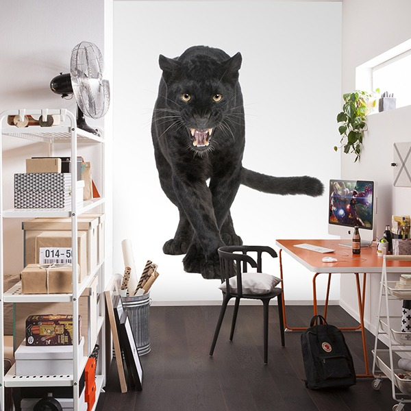 Wall Murals: Black Panther