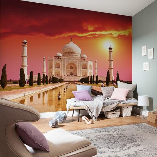 Wall Murals: Taj Mahal
