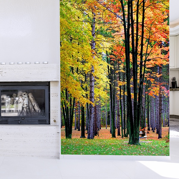 Wall Murals: Forest 3