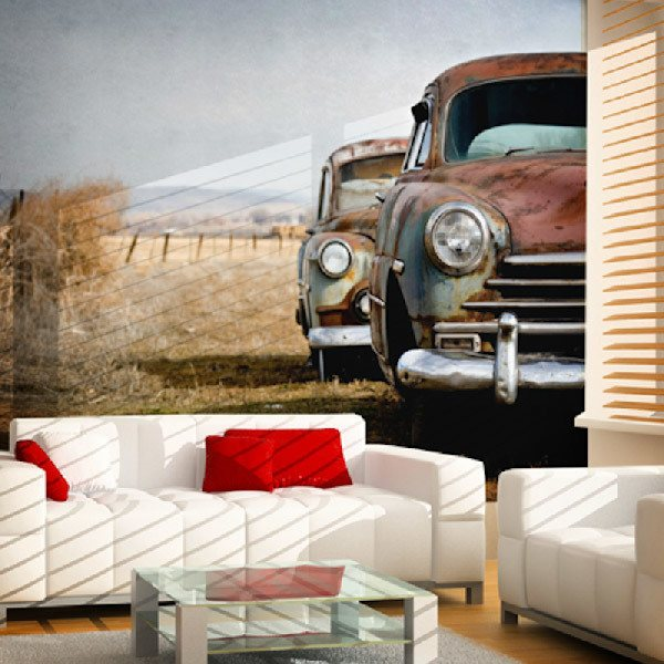 Wall Murals: Vintage Cars