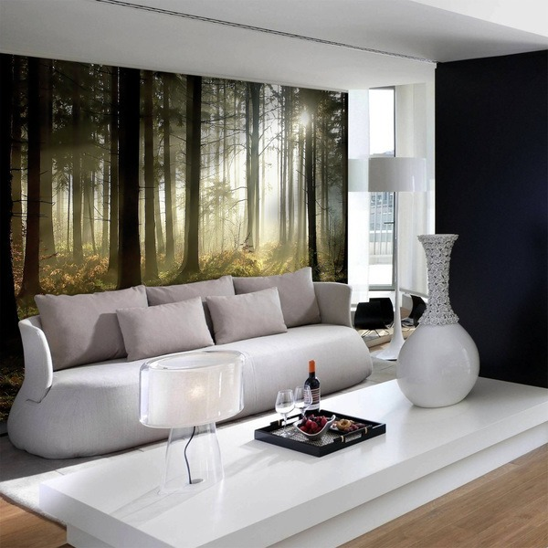 Wall Murals: Forest at Dusk