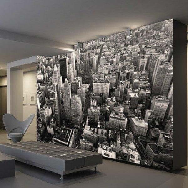 Wall Murals: New York Skyscrapes
