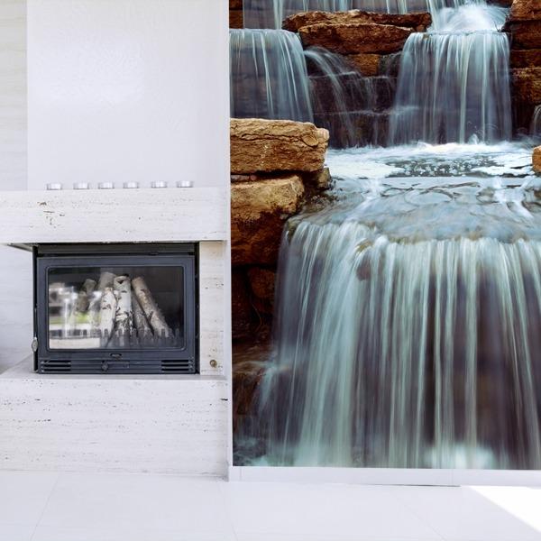Wall Murals: Cascada y piedras