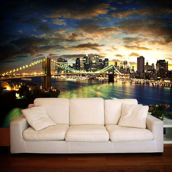 Wall Murals: New York Cityscape