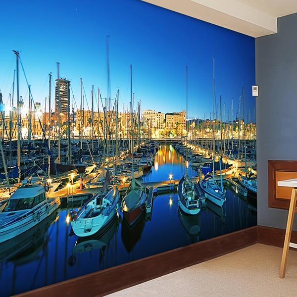 Wall Murals: Puerto Barcelona