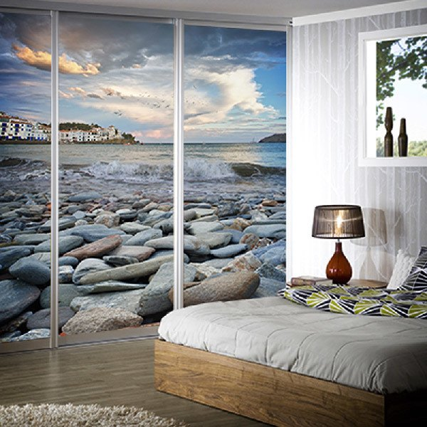 Wall Murals: Rocky Beach