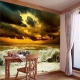Wall Murals: Wave before the storm