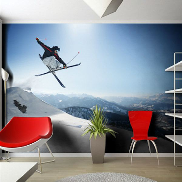 Wall Murals: Snow