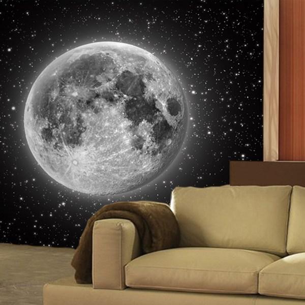 Wall Murals: Moon