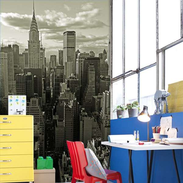 Wall Murals: New York