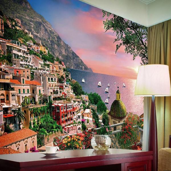Wall Murals: Italian coast
