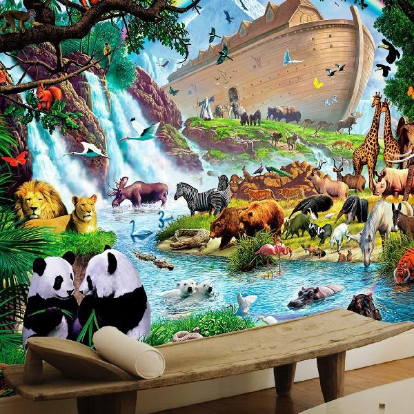 Wall Murals: Noah