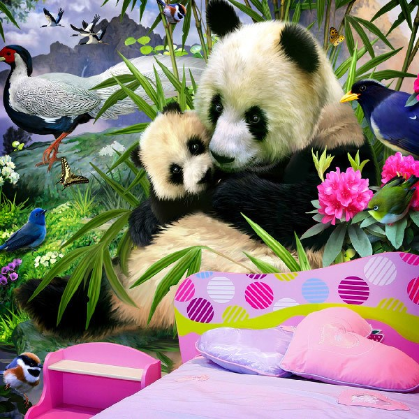 Wall Murals: Panda Bear