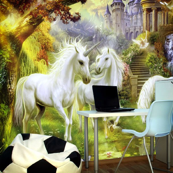 Wall Murals: Unicorns
