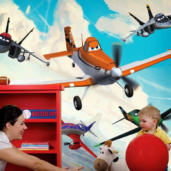 Wall Murals: Planes