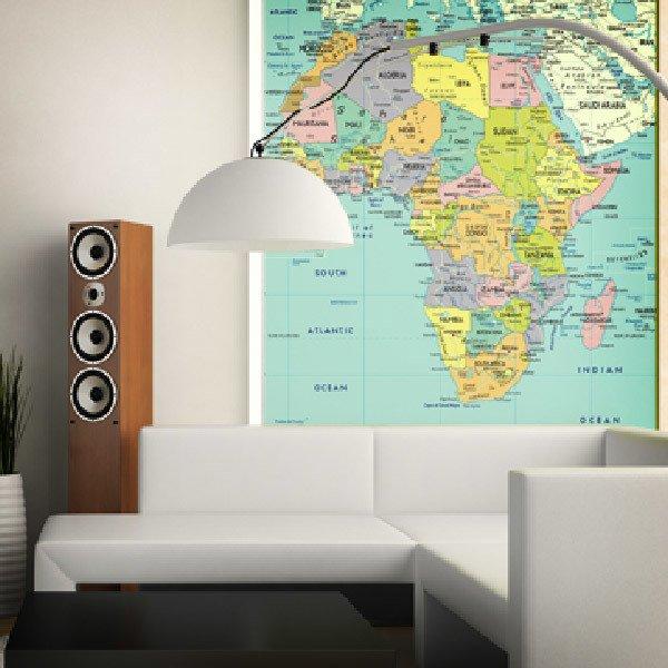 Wall Murals: Africa Political 1