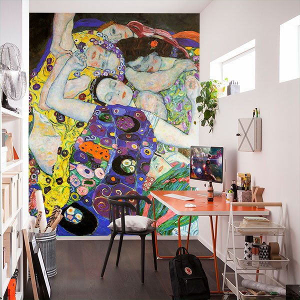 Wall Murals: The virgin_Klimt
