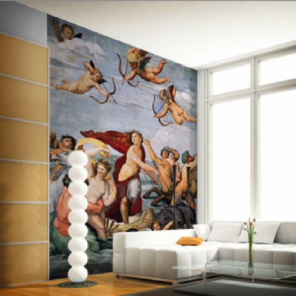 Wall Murals: Triumph of Galatea2_Raphael