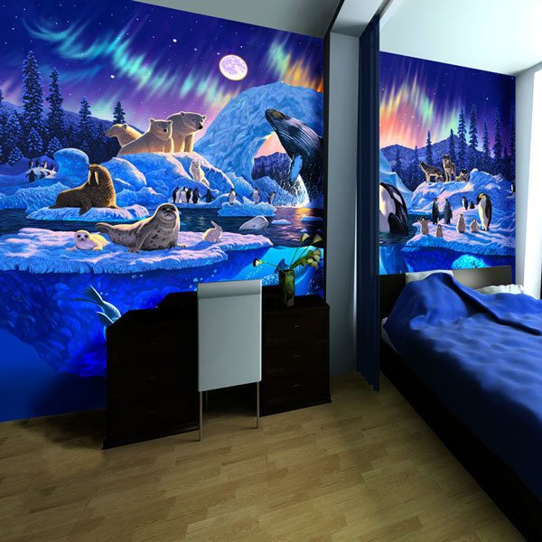 Wall Murals: Artic Harmony