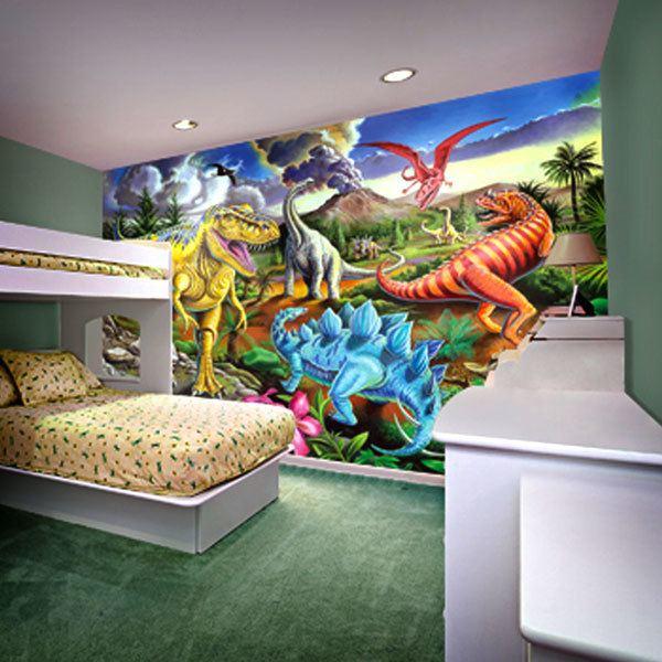 Wall Murals: Jurassic Jubilee