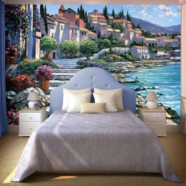 Wall Murals: St. Tropez (Howard Behrens)